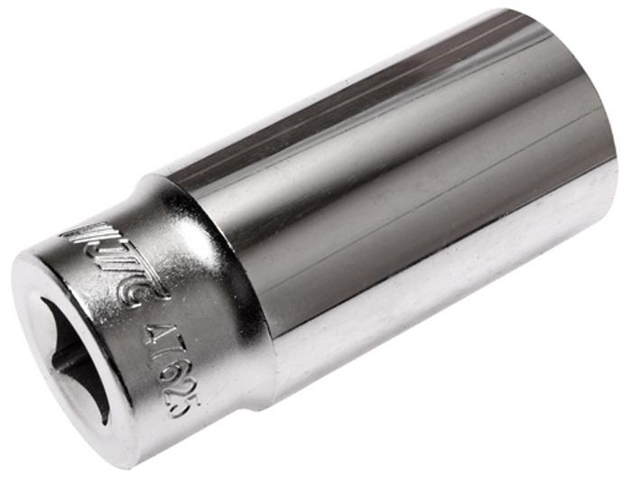 Головка торцевая JTC, глубокая, 6-гранная 1/2 х 25 мм, длина 76 мм. JTC-47625JTC-47625Головка торцевая JTC изготовлена из закаленной хром-ванадиевой стали. Имеет 6 граней, метрический размер.Размер: 1/2х25 мм.Общая длина: 76 мм. Количество в оптовой упаковке: 10 шт. и 80 шт. Габаритные размеры: 76/34/34 мм. (Д/Ш/В) Вес: 234 гр.