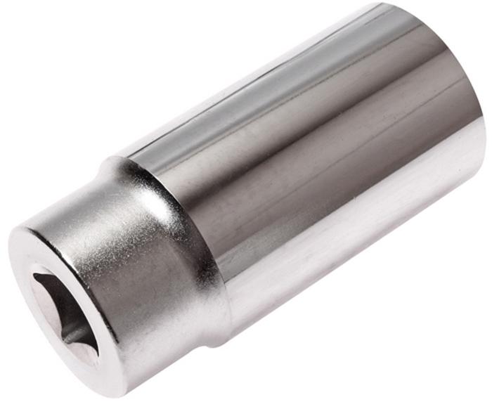 """JTC Головка торцевая глубокая 6-гранная 1/2 х 27 мм, длина 76 мм. JTC-47627JTC-476276 граней, метрический размер. Изготовлена из закаленной хром-ванадиевой стали. Размер: 1/2""""х27 мм.Общая длина: 76 мм. Количество в оптовой упаковке: 10 шт. и 80 шт. Габаритные размеры: 76/36/36 мм. (Д/Ш/В) Вес: 288 гр."""