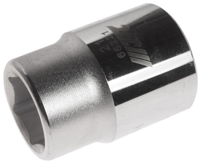 """JTC Головка6-гранная 3/4 х 21 мм, длина 50 мм. JTC-65221JTC-652216 граней, метрический размерДиаметр: 21 ммОбщая длина: 50 ммРазмер: 3/4"""" DrИзготовлена из закаленной хром-ванадиевой сталиГабаритные размеры: 50/40/40 мм. (Д/Ш/В)Вес: 215 гр."""