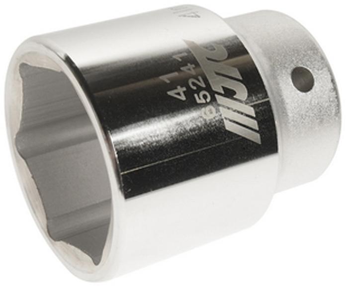 """JTC Головка6-гранная 3/4 х 41 мм, длина 64 мм. JTC-65241JTC-652416 граней, метрический размер. Диаметр: 41 мм. Общая длина: 64 мм. Размер: 3/4"""" Dr. Изготовлена из закаленной хром-ванадиевой стали. Габаритные размеры: 70/70/70 мм. (Д/Ш/В) Вес: 590 гр."""