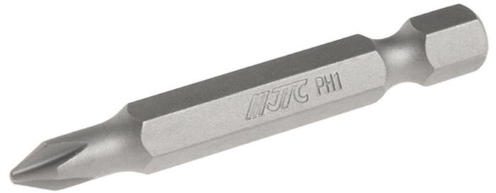 JTC Вставка 1/4DR Philips PH.1х50 мм. JTC-1115001JTC-1115001Размер: PH.1 х 50 мм.Квадрат: 1/4 DR.Материал: S2 сталь.