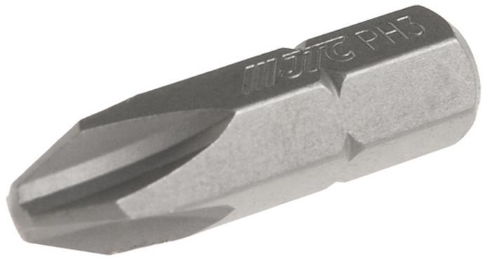 JTC Вставка 5/16DR Philips PH.3х30 мм. JTC-1213003JTC-1213003Размер: 3 х 30 мм.Квадрат: 5/16 DR.Материал: S2 сталь.Тип: PH.