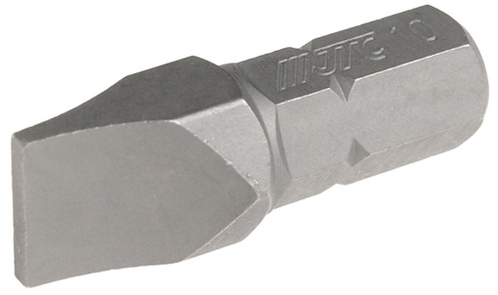 JTC Вставка 5/16DR шлиц 1.6х10х30 мм. JTC-1223010JTC-1223010Размер: 1.6 х 10 х 30 мм. Квадрат: 5/16 DR. Материал: S2 сталь. Тип: SL.