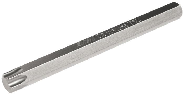 JTC Вставка 10 мм TORX экстрадлинная Т55х120 мм. JTC-1331255JTC-1331255Размер: Т55 х 120 мм., экстрадлинная TORX.Общая длина: 120 мм.Длина насадки: 10 мм.Материал: S2 сталь.