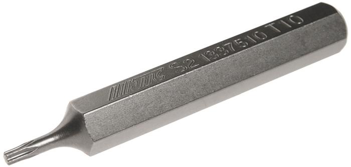 JTC Вставка 10 мм TORX удлиненная Т10х75 мм. JTC-1337510JTC-1337510Размер: Т10 х 75 мм., удлиненная TORX.Длина насадки: 10 мм.Материал: S2 сталь.