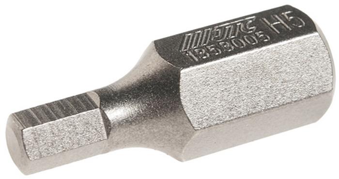 JTC Вставка 10 мм 6-гранная 5х30 мм. JTC-1353005JTC-1353005Размер: 5 х 30 мм.Длина насадки: 10 мм 6-гранная.Материал: S2 сталь.
