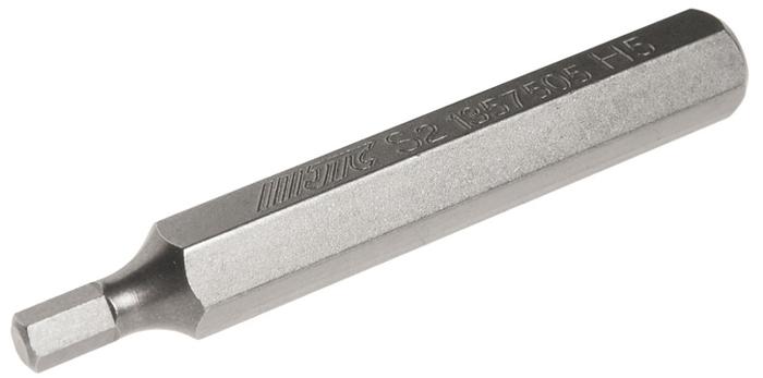 JTC Вставка 10 мм 6-гранная удлиненная 5х75 мм. JTC-1357505JTC-1357505Размер: 5 х 75 мм. Длина насадки: 10 мм 6-гранная. Материал: S2 сталь.