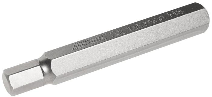 JTC Вставка 10 мм 6-гранная удлиненная 8х75 мм. JTC-1357508JTC-1357508Размер: 8 х 75 мм. Длина насадки: 10 мм 6-гранная. Материал: S2 сталь.