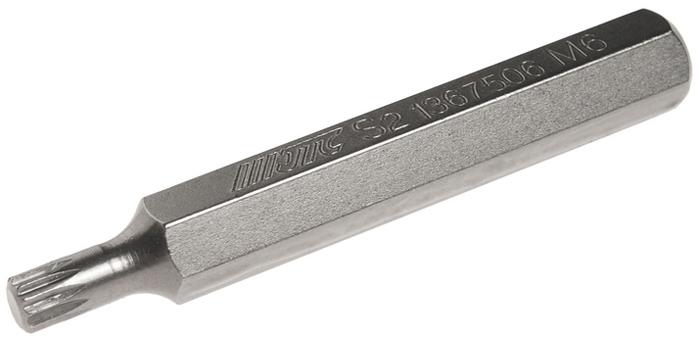 JTC Вставка 10 мм SL удлиненная М6х75 мм. JTC-1367506JTC-1367506Размер: М6. Общая длина: 75 мм. Длина насадки: 10 мм удлиненная SL. Материал: S2 сталь.