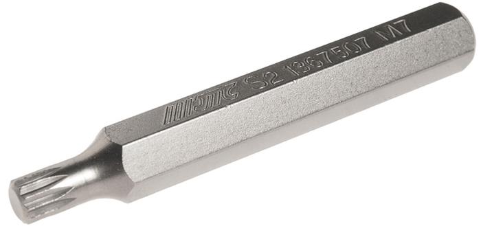 JTC Вставка 10 мм SL удлиненная М7х75 мм. JTC-1367507JTC-1367507Размер: М7.Общая длина: 75 мм.Длина насадки: 10 мм удлиненная SL.Материал: S2 сталь.