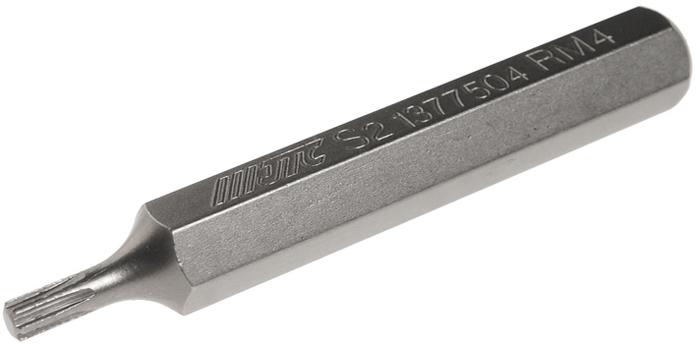 JTC Вставка 10 мм Ribe удлиненная М4х75 мм. JTC-1377504JTC-1377504Размер: М4.Общая длина: 75 мм.Длина насадки: 10 мм удлиненная Ribe.Материал: S2 сталь.
