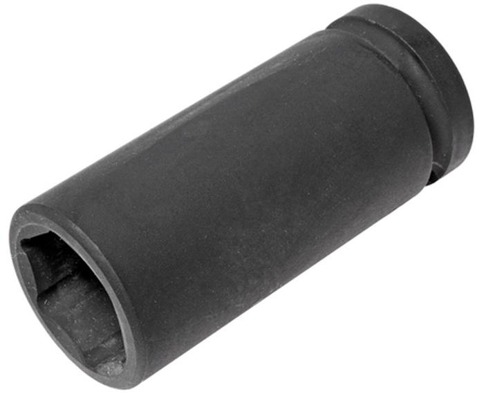 """JTC Головка торцевая глубокая ударная 6-гранная 3/4 х 27 мм, длина 90 мм. JTC-649027JTC-6490276 граней, метрический размер. Изготовлена из высококачественной хром-молибденовой стали. Размер: 3/4""""х27 мм.Общая длина: 90 мм. Количество в оптовой упаковке: 30 шт. Габаритные размеры: 90/40/40 мм. (Д/Ш/В) Вес: 500 гр."""