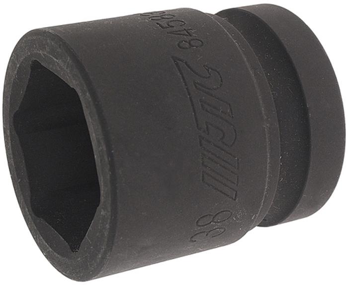 JTC Головка торцевая ударная 6-гранная 1 х 38 мм. JTC-845838JTC-8458386 граней, метрический размер. Изготовлена из закаленной хром-ванадиевой стали. Размер :1х 38мм. Длина: 62 мм.