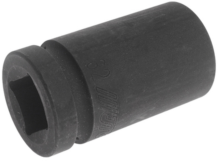 """JTC Головка торцевая глубокая ударная 6-гранная 1 х 32 мм, длина 90 мм. JTC-849032JTC-849032Изготовлена из высококачественной хром-молибденовой стали.6 граней, метрический размер. Размер: 1""""х32 мм. Длина: 90 мм.Габаритные размеры: 100/60/60 мм. (Д/Ш/В)Вес: 845 гр."""