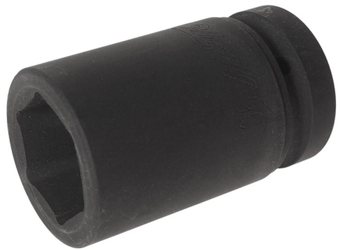 """JTC Головка торцевая глубокая ударная 6-гранная 1 х 36 мм, длина 90 мм. JTC-849036JTC-8490366 граней, метрический размер.Диаметр: 36 мм., ширина - 56 мм.Общая длина: 90 мм.Размер: 1"""" Dr.Изготовлена из высококачественной хром-молибденовой стали.Габаритные размеры: 100/60/60 мм. (Д/Ш/В)Вес: 1000 гр."""