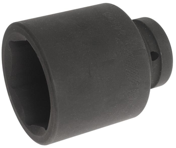 """JTC Головка торцевая глубокая ударная 6-гранная 1 х 60 мм, длина 105 мм. JTC-849060JTC-8490606 граней, метрический размер. Диаметр: 60 мм., ширина - 87 мм. Общая длина: 105 мм. Размер: 1"""" Dr. Изготовлена из высококачественной хром-молибденовой стали. Габаритные размеры: 140/110/100 мм. (Д/Ш/В) Вес: 2300 гр."""