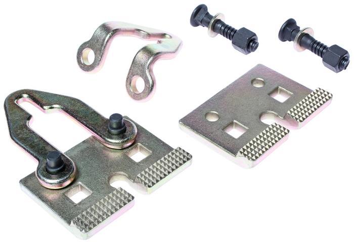 JTC Захват для кузовных работ двунаправленный. JTC-C601NJTC-C601N Максимальное осевое усилие 5 т. Максимальное поперечное усилие 3 т.Размер болта: 14 мм.∅х73 мм.Обладает высокопрочной конструкцией.Количество в оптовой упаковке: 9 шт.Габаритные размеры: 250/150/60 мм. (Д/Ш/В)Вес: 2850 гр.