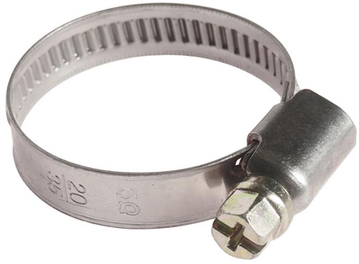 Хомут червячный JTC, 23-35 мм. JTC-ZN35JTC-ZN35Хомут червячный JTC выполнен из нержавеющей стали. Особая конструкция хомута позволяет выставлять различные диаметры с помощью стяжного винта. Увеличенная площадь рабочей поверхности болта позволяет сильнее затягивать хомут, делая крепление материалов более надежным. Обладает высоким сопротивлением скручиванию (60 кг/см2 для ленты шириной 9 мм, 80 кг/см2 для ленты шириной 12 мм) и высокой прочностью. Специальная кромка не оставляет заусениц и не повреждает поверхность шланга.Диапазон применения: 23-35 мм.Ширина ленты: 9 мм.Толщина ленты: 0,6 мм.