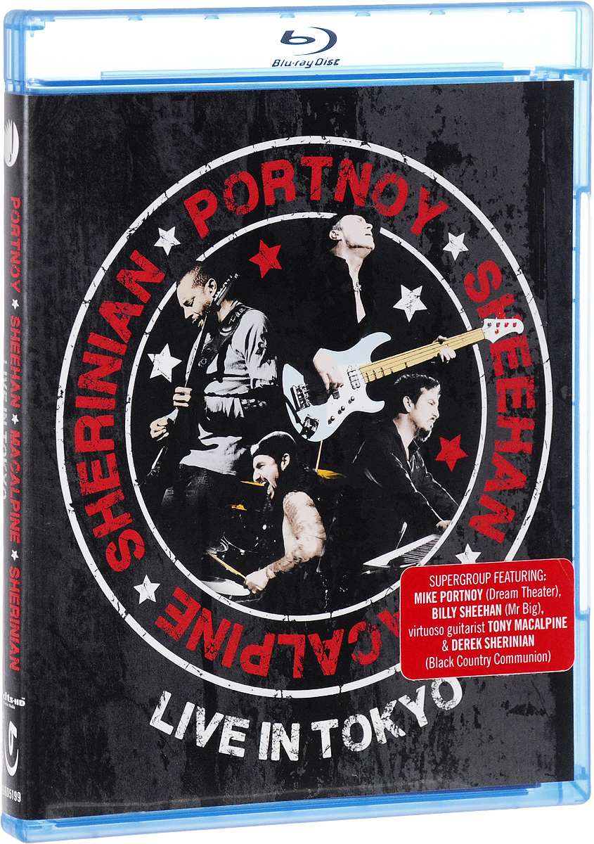 Portnoy, Sheehan, MacAlpine, Sherinian: Live In Tokyo (Blu-ray) francis rossi live from st luke s london blu ray