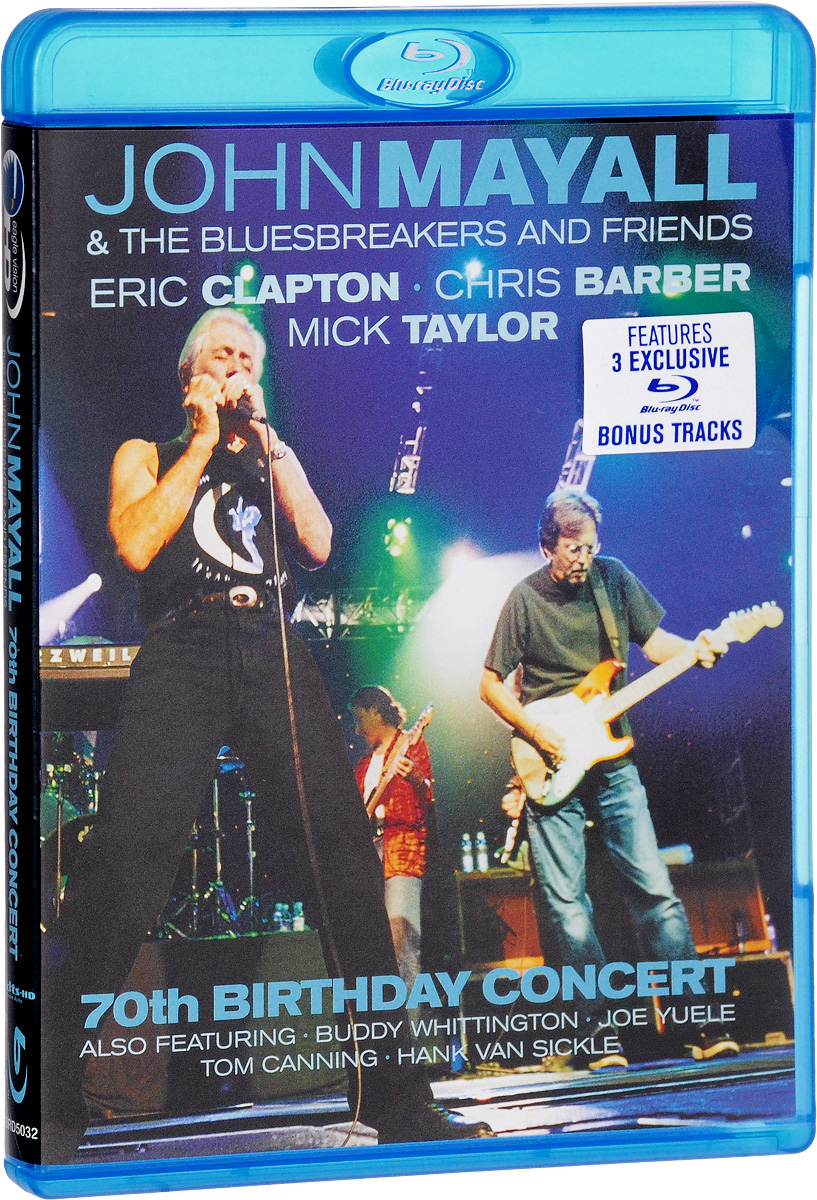 John Mayall & The Bluesbreakers & Friends: 70th Birthday Concert (Blu-ray) jiangdong ty395e jd495 engine for tractor like jinma the water pump for by pass hoses and extra vent for warm