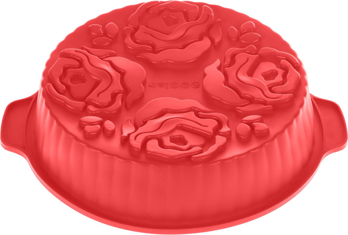 Форма для выпечки и заморозки Букет, силиконовая, цвет: красный93-SI-FO-37Силиконовая форма для выпечки и заморозки продуктов предназначена для изготовления желе, льда, выпечки и т.д. Оригинальный способ подачи изделий не оставит равнодушным родных и друзей. Силиконовые формы Regent Inox Silicone выдерживают высокие и низкие температуры (от - 40 до + 230 градусов). Они эластичны, износостойки, легко моются, не горят и не тлеют, не впитывают запахи, не оставляют пятен. Силикон абсолютно безвреден для здоровья. Характеристики:Материал: силикон. Общий размер формы: 27 см х 27 см х 6,5 см. Размер упаковки: 44 см х 33,5 см х 7 см. Изготовитель: Италия. Артикул: 93-SI-FO-37.