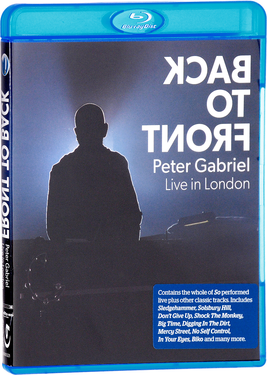 Peter Gabriel: Back To Front - Live In London (Blu-ray) francis rossi live from st luke s london blu ray