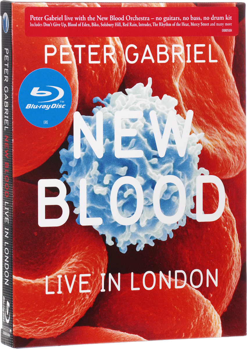Peter Gabriel: New Blood - Live In London (Blu-ray) francis rossi live from st luke s london blu ray