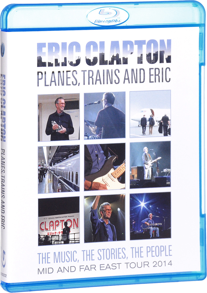 Eric Clapton: Planes, Trains & Eric (Blu-ray) celine dion through the eyes of the world blu ray