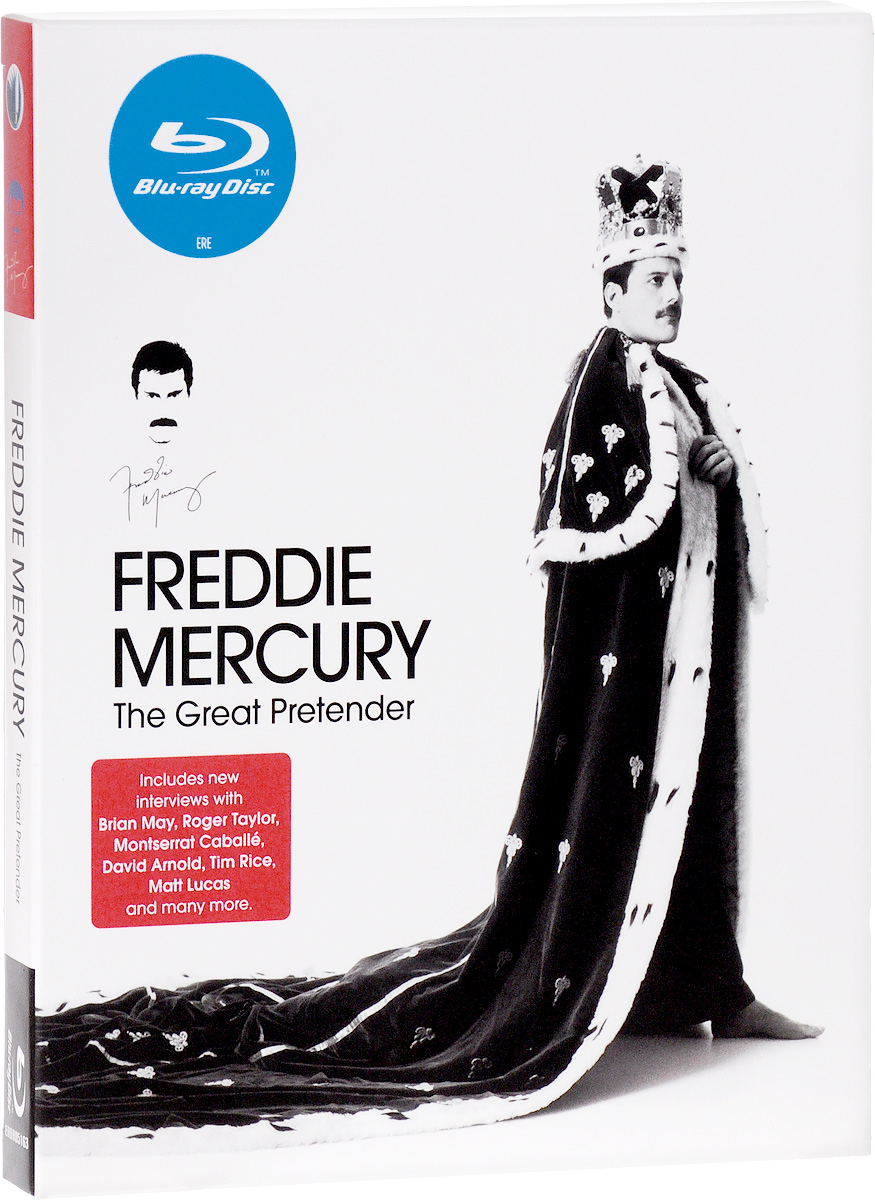 Freddie Mercury: The Great Pretender (Blu-ray) celine dion through the eyes of the world blu ray