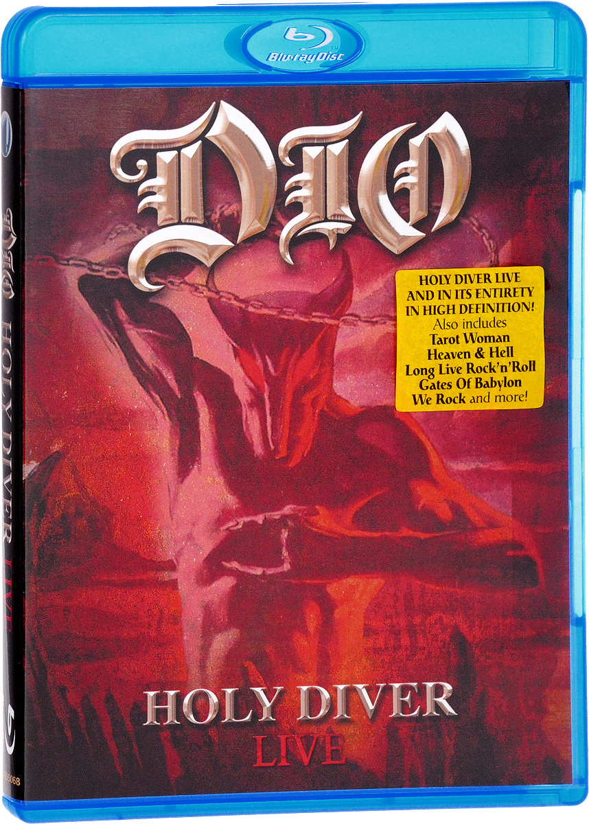 Dio: Holy Diver Live (Blu-ray) yello live in berlin blu ray
