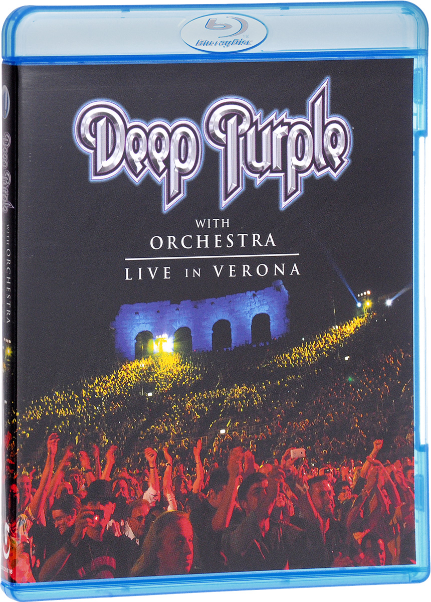 Deep Purple With Orchestra: Live In Verona (Blu-ray) cicero sings sinatra live in hamburg blu ray