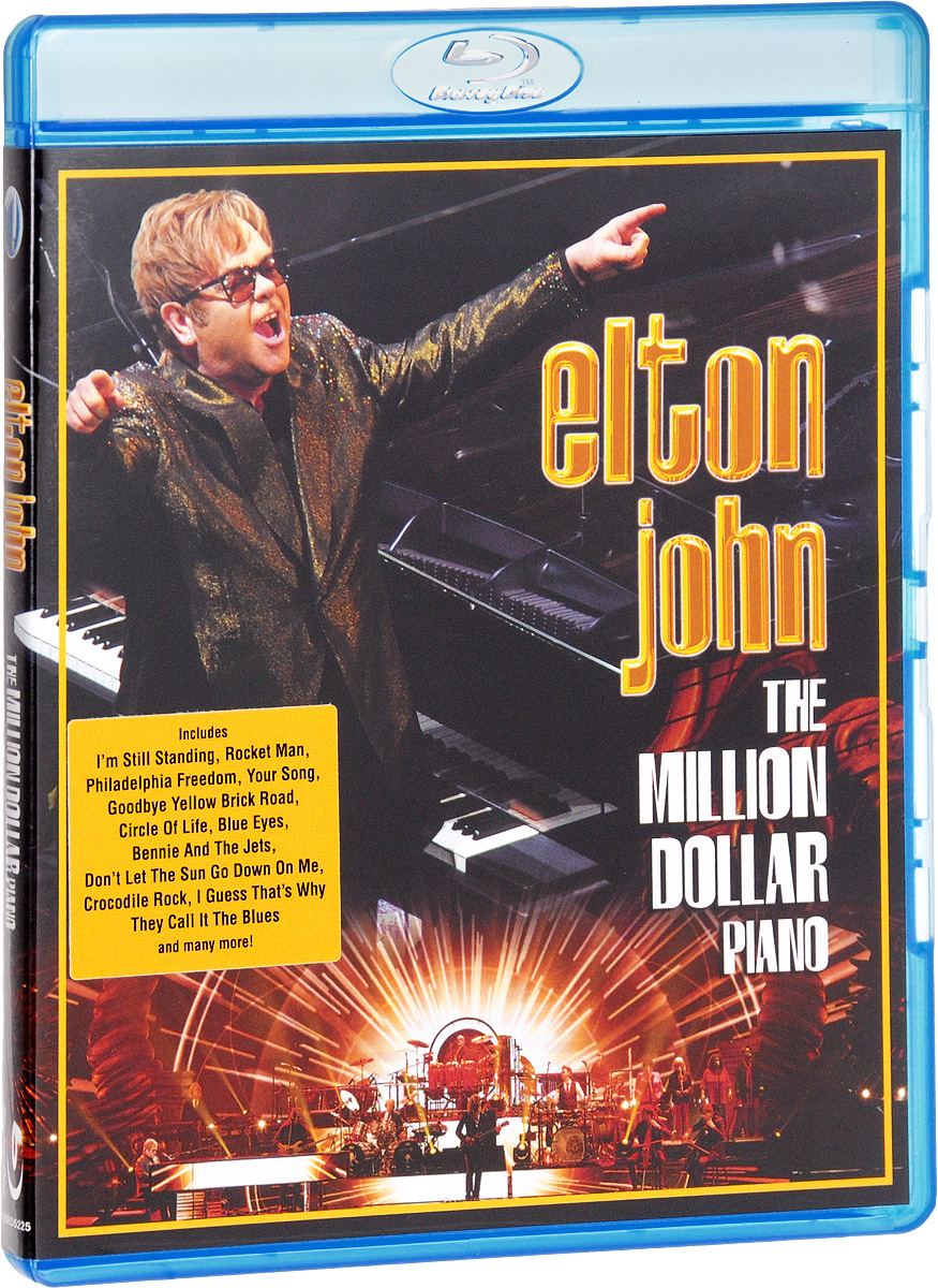 Elton John: The Million Dollar Piano (Blu-ray) элтон джон elton john goodbye yellow brick road 4 cd dvd