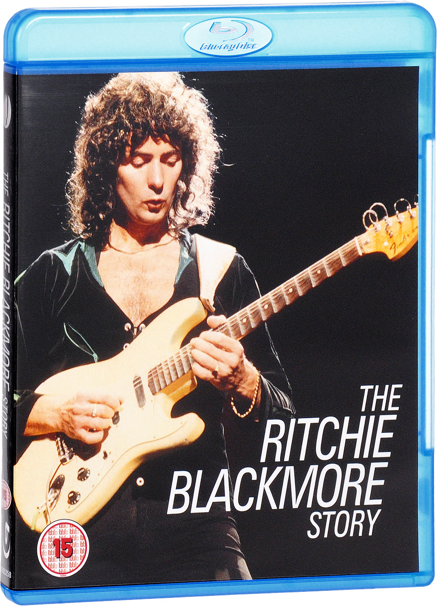 Ritchie Blackmore: The Ritchie Blackmore Story (Blu-ray) free delivery of high quality custom shop electric guitar black hardware ebony bound lp guitar wholesale and retail real phot