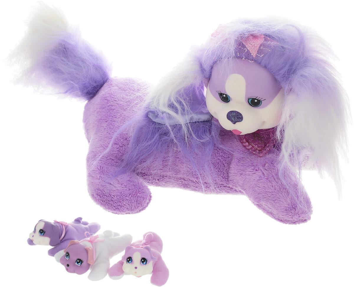 Just Play Мягкая игрушка Собачка Кэнди и ее щенки обучающая игрушка оригинальные 1pcs мальчики девочки