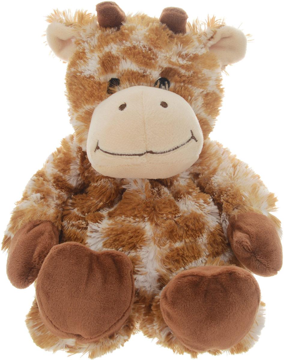 Warmies Мягкая игрушка-грелка Жираф цвет рыжий грелки warmies cozy plush игрушка грелка дракон