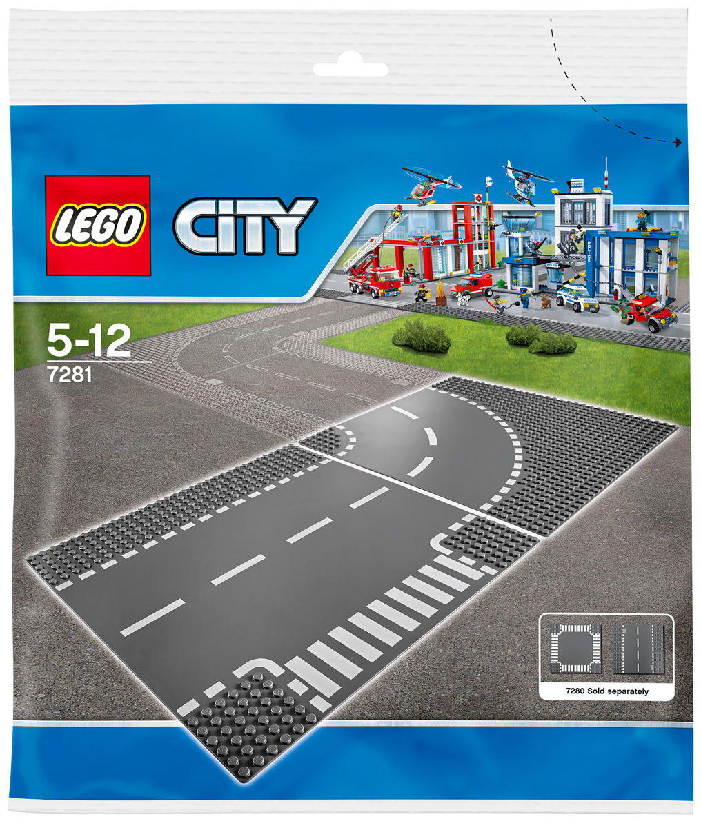 LEGO City Конструктор Т-образная развязка 7281 lego city конструктор внедорожник каскадера 60146