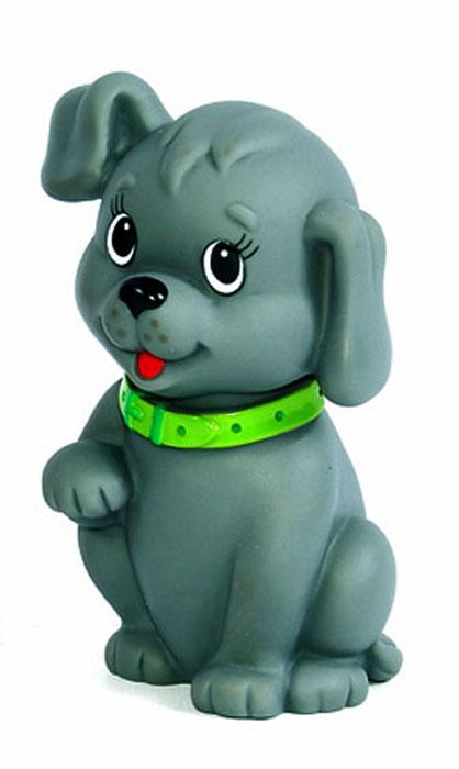 Игрушка для ванной Собачка цвет серый, Первые игрушки  - купить со скидкой
