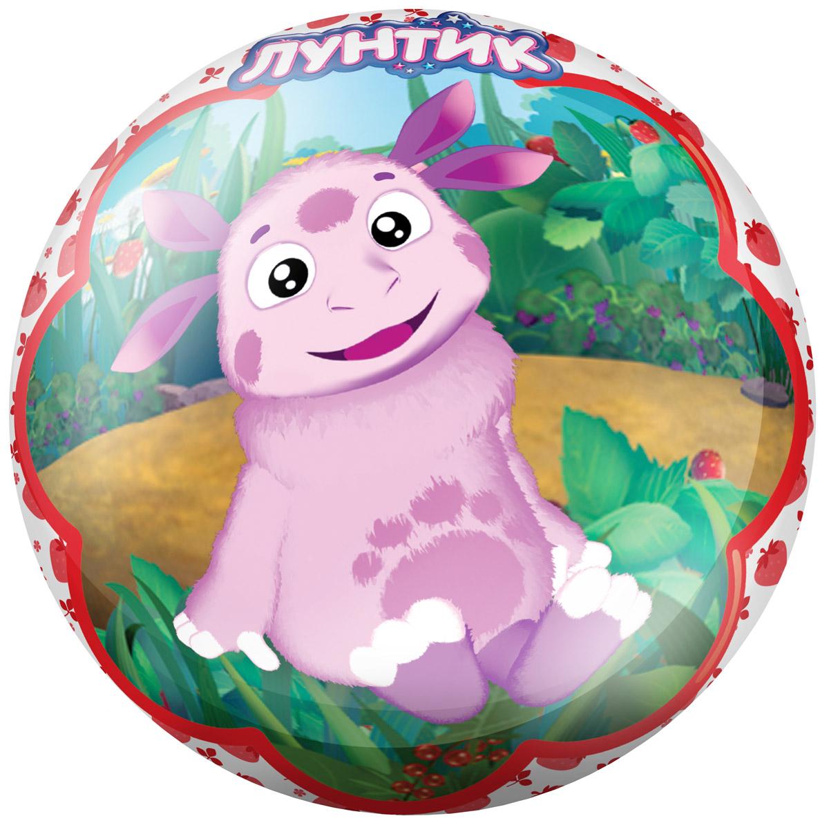 Fresh Trend Мяч Лунтик цвет красный 23 см