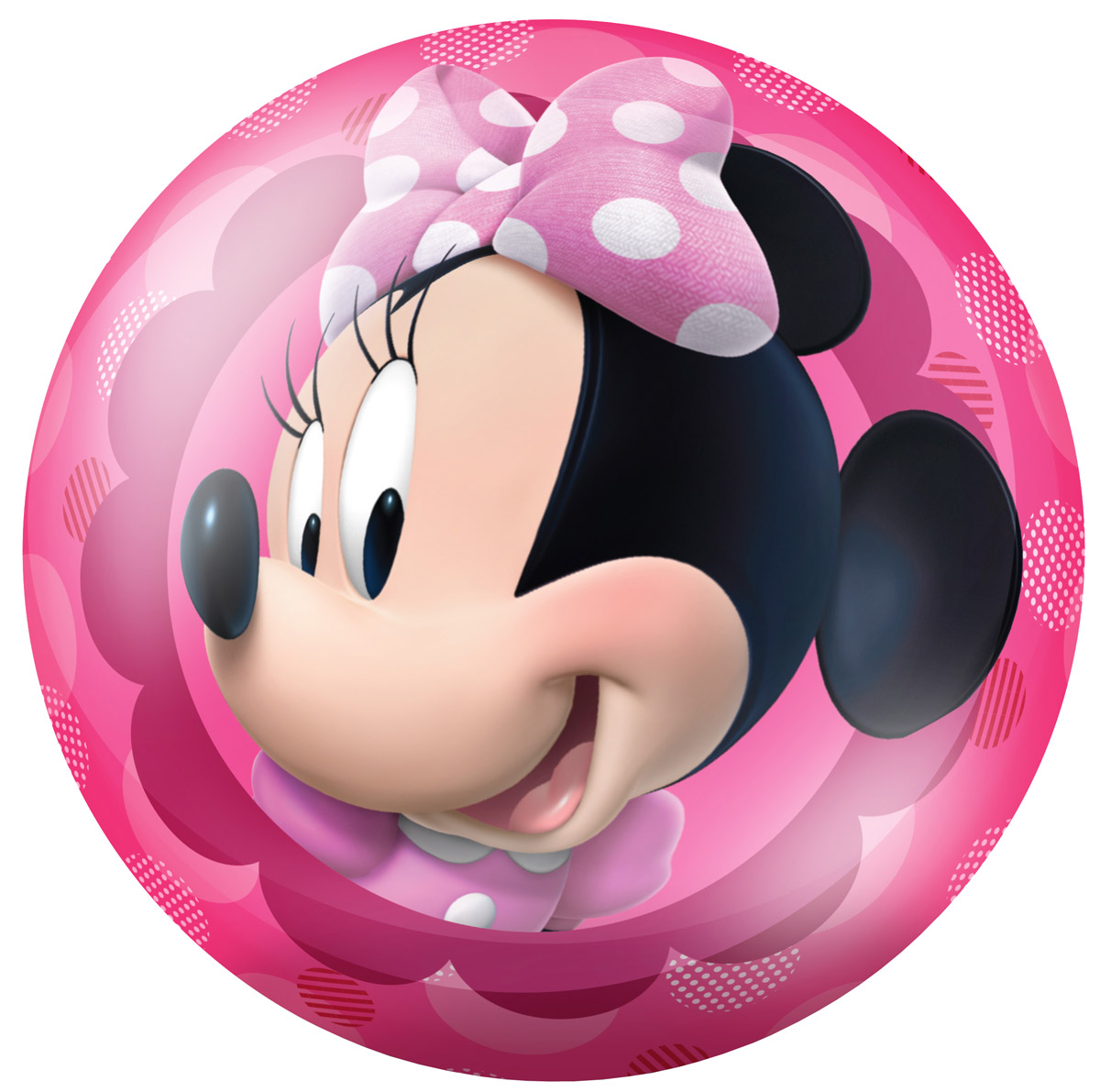 Fresh Trend Мяч Минни цвет розовый 23 см