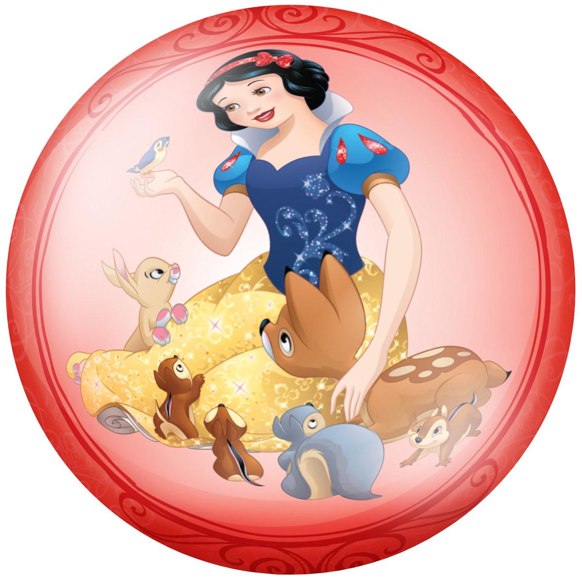 Fresh Trend Мяч Принцессы цвет красный 15 см
