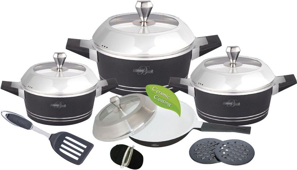 Набор посуды  Barton Steel , 13 предметов - Посуда для приготовления