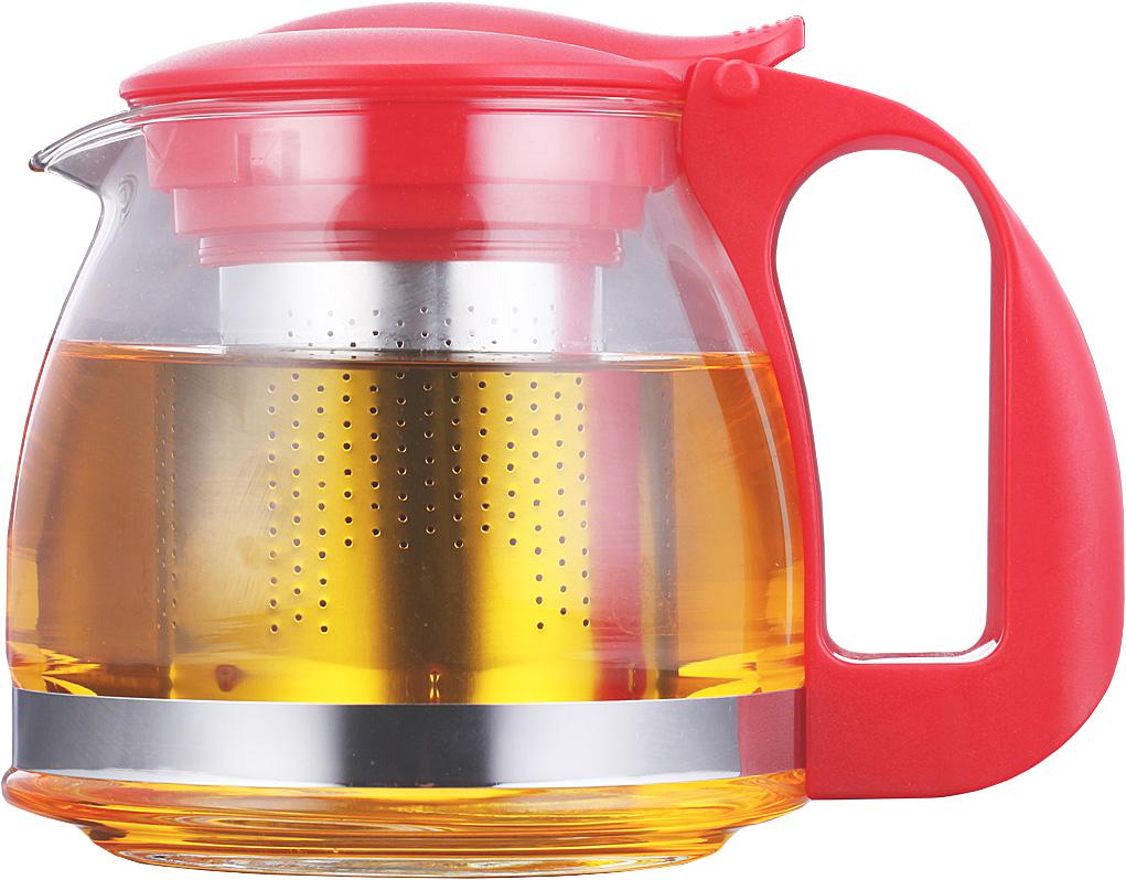 Чайник заварочный Walmer Aster, 700 млW15002070Заварочный чайник Walmer Aster изготовлен из прочного стекла и пластика. Он прекрасно подойдет для заваривания чая и травяных напитков. Классический стиль и оптимальный объем делают его удобным и оригинальным аксессуаром. Изделие имеет удлиненный стальной фильтр, который обеспечивает высокое качество фильтрации напитка и позволяет заварить чай даже при небольшом уровне воды. Ручка чайника не нагревается и обеспечивает безопасность использования.