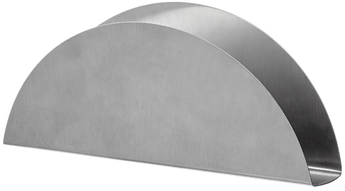 Салфетница Walmer Denis, 15 x 2,8 x 6,2 смW26040115Салфетница Walmer Denis выполнена из высококачественной нержавеющей стали. Благодаря лаконичному дизайну и элегантной форме салфетница подойдет не только для повседневных салфеток, но и праздничных, которые, как правило, имеют больший формат. Салфетница Walmer Denis станет не только украшением любого стола, но и отличным подарком.