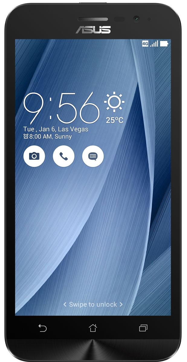 ASUS ZenFone Go ZB500KL 32GB, Silver90AX00A9-M02070Поддержка двух SIM-карт, четкое изображение, интуитивно понятный пользовательский интерфейс - все это вы найдете в новом смартфоне ASUS ZenFone Go ZB500KL.Линейка мобильных продуктов Asus, разрабатываемых под общей философией Zen, - это устройства, которыми приятно пользоваться. Сочетая в себе широкую функциональность и великолепный дизайн, они идеально подходят для современного, мобильного стиля жизни.ZenFone Go выполнен в эргономичном корпусе, который удобно ложится в ладонь. Оригинальным и весьма удобным решением в его дизайне является расположенная на задней панели корпуса кнопка, с помощью которой можно делать фотоснимки, изменять громкость звука и т.д.Подчеркните свою индивидуальность, выбрав ZenFone Go своего любимого цвета из нескольких доступных вариантов. А затем установите соответствующую визуальную тему пользовательского интерфейса ASUS ZenUI.В ZenFone Go реализована эксклюзивная технология PixelMaster, представляющая собой комплекс аппаратных и программных функций, направленных на повышение качества мобильной фотографии.В режиме низкой освещенности камера смартфона объединяет каждый четыре пикселя датчика изображения в один для увеличения светочувствительности на 400%. При этом также минимизируется цветовой шум и увеличивается контрастность.В режиме увеличенного динамического диапазона (Super HDR) происходит автоматическое изменение параметров изображения с целью обеспечения равномерной засветки всей фотографии.Функция улучшения портрета позволяет автоматически украсить селфи-снимки в режиме реального времени: убрать дефекты кожи, подкорректировать черты лица и т.д.ZenFone Go оснащается двумя слотами для SIM-карт, что позволяет использовать одновременно два телефонных номера, например рабочий и личный. Применяемый в нем модуль мобильной связи уверенно работает даже в неблагоприятных условиях и может похвастать пониженным энергопотреблением, что положительно сказывается на времени автономной работы устро