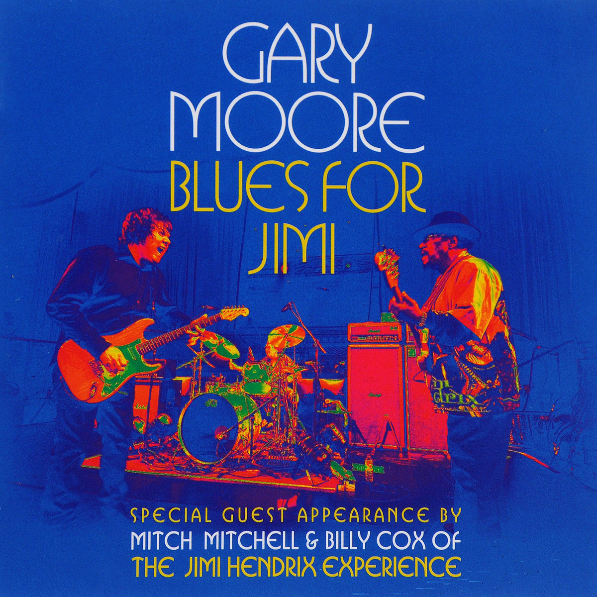 Гэри Мур Gary Moore. Blues For Jimi (CD + DVD) gary moore gary moore wild frontier