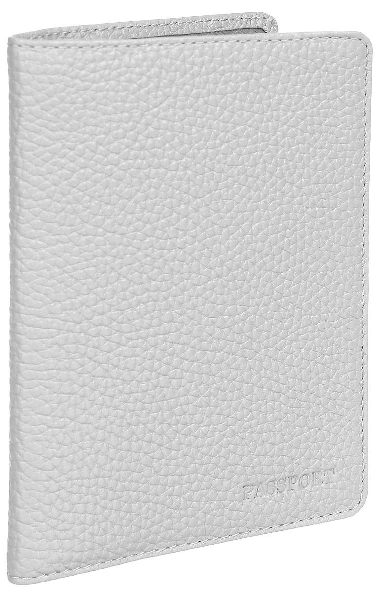 Обложка для паспорта женская Fabula Solo, цвет: серый. O.87.RKНатуральная кожаОбложка для паспорта из коллекции «Solo» выполнена из натуральной зернистой кожи. На внутреннем развороте два кармана из плотного прозрачного пластика.