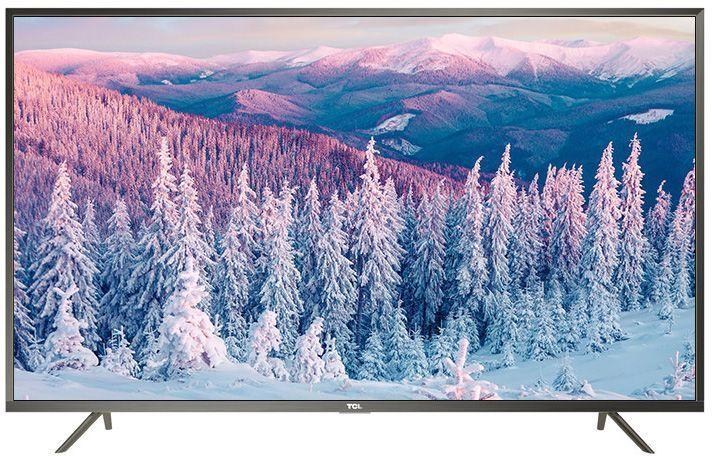 TCL L49P2US, Steel телевизорL49P2USНа экране телевизора TCL L49P2US вы всегда будете видеть идеальное изображение формата 4К, вне зависимости от качества видеосигнала. За его обработку отвечает высокопроизводительный 64-х битный процессор, автоматически анализирующий и конвертирующий картинку и звук. Загружайте новый контент, смотрите фильмы, слушайте музыку - в наилучшем качестве!Сверхчеткое изображение нового телевизора TCL позволит в динамике рассмотреть ранее недоступные мельчайшие детали, наслаждаясь насыщенностью цветов и контрастностью! Стандарт видеоизображения позволяет просматривать фильмы и компьютерную графику в разрешении 4К - 3840 x 2160.Телевизор TCL L49P2US имеет самую современную технологию прорисовки полутонов, позволяющую добиваться невероятной реалистичности картинки. Вы видите на экране до миллиарда тончайших цветовых тонов, которые делают изображение неотличимым от оригинала.Smart-телевизор TCL откроет для вас новый мир, объединяющий сотни и тысячи телеканалов, интернет-серфинг и вселенные онлайн-игр. Загружайте любимые фильмы, делитесь своими лучшими фотографиями и видеозаписями в социальных сетях, слушайте музыку и узнавайте интересующие вас новости с помощью удобных предустановленных приложений.Процессор 4K в сочетании с технологией UHD Upscaling передает цвета более естественно в ярких сценах, делая изображение реалистичнее. Поддержка масштабирования изображения до разрешения 4К при просмотре видео обеспечивает невероятное богатство деталей, естественную цветопередачу и контрастность, а тональные переходы получаются более плавными.