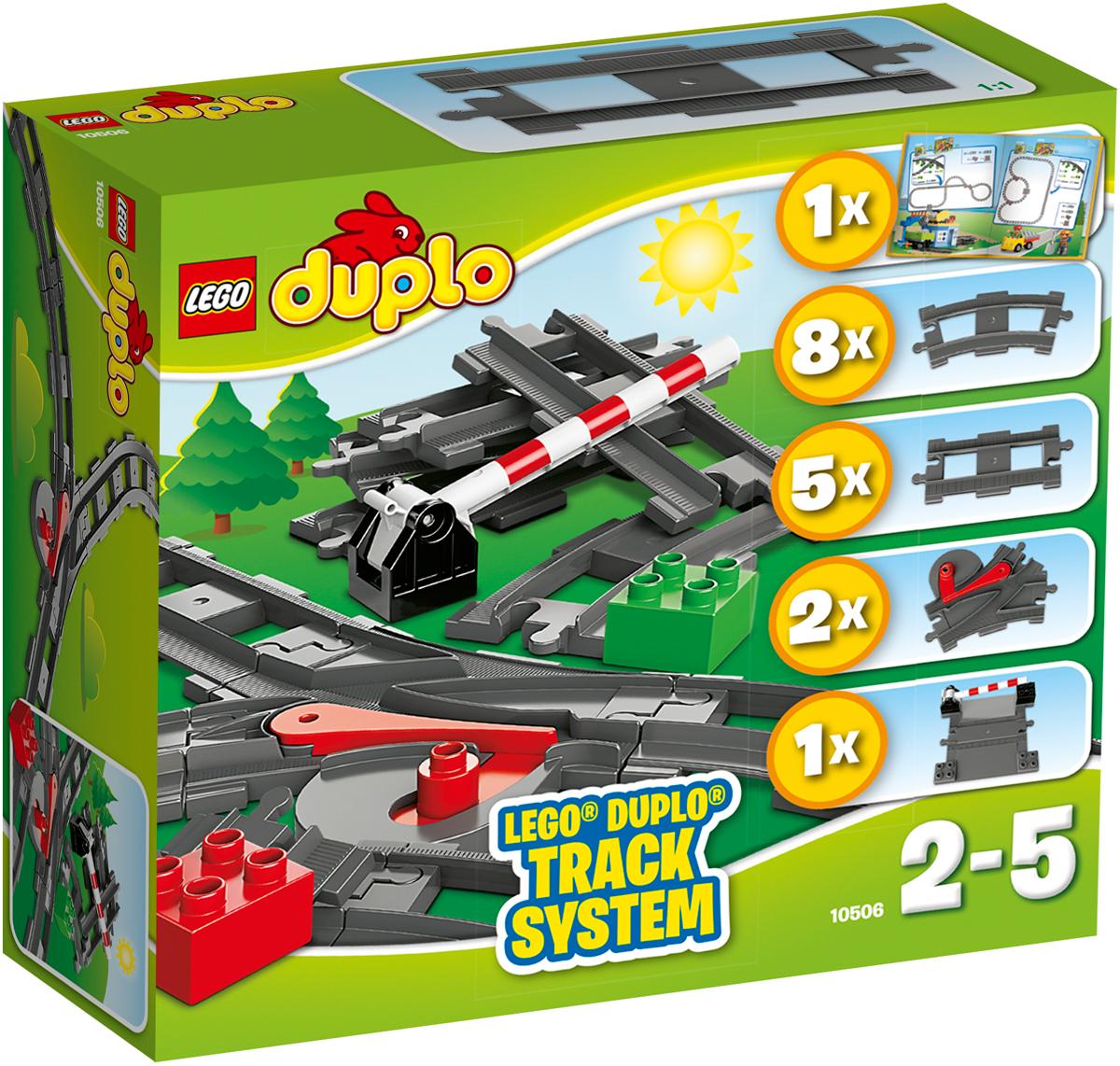 LEGO DUPLO Конструктор Дополнительные элементы для поезда 10506 lego duplo 10506 лего дупло дополнительные элементы для поезда