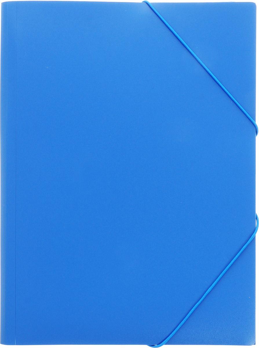 Berlingo Папка на резинке Standard цвет синий папка berlingo standard а4 500мкм на резинке серая