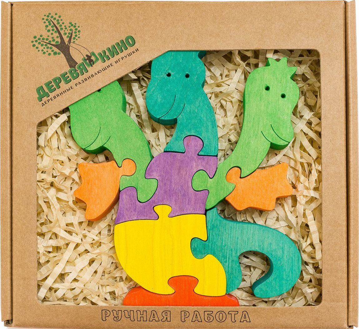 Деревяшкино Пазл для малышей Змей Горыныч деревяшкино пазл для малышей бронтозавр 2